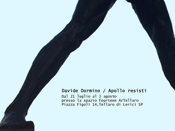 Davide Dormino, Apollo Resisti!, FourteenArTellaro, Tellaro di Lerici (SP)
