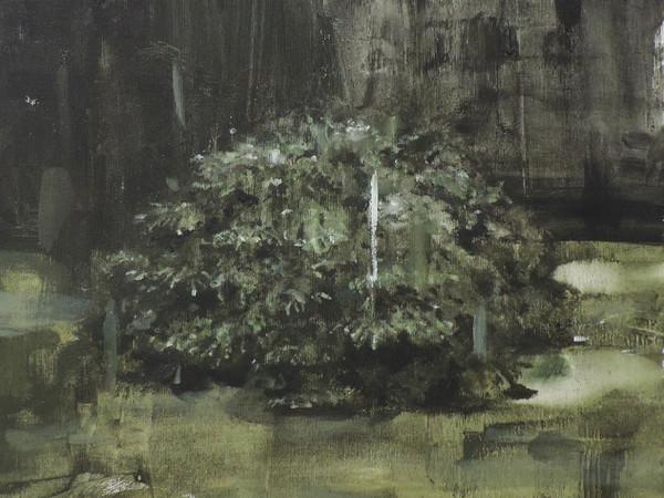 Jerico, Ritratto di cespuglio, tela, 30x25 cm.