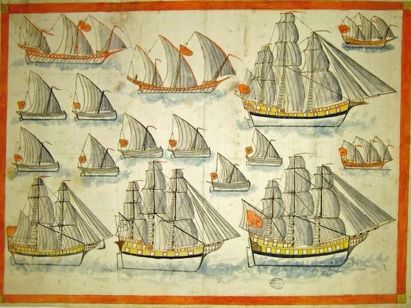 Navi, squeri, traghetti da Jacopo de' Barbari, Fondazione Querini Stampalia, Venezia