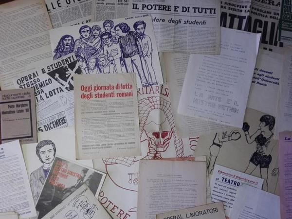 """Il '68 di carta. Le parole, le idee e le speranze nell'archivio """"Memoria di carta"""""""