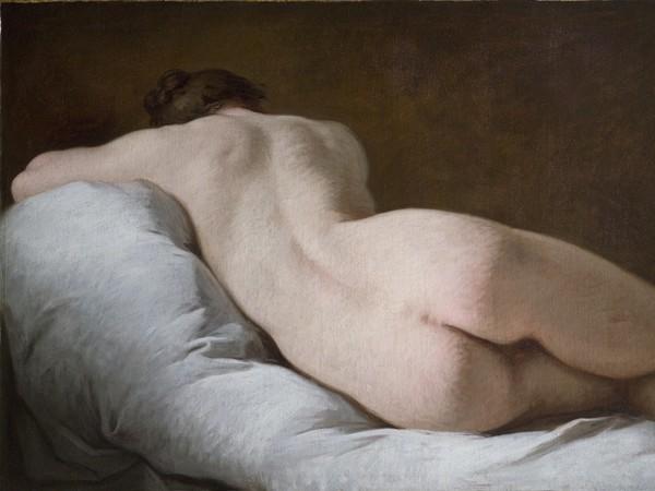 Pierre Subleyras (Saint Gilles du Gard 1699 - Roma 1749), Nudo femminile di schiena, Olio su tela, 136 x 74 cm, Roma, Gallerie Nazionali Barberini Corsini