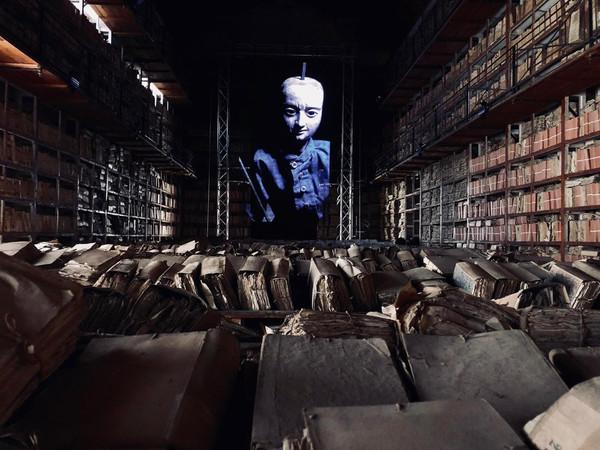 Masbedo, Protocol no. 90/6, video installazione site-specific,Archivio di Statodi Palermo