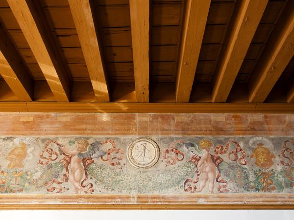Giovanni da Udine, Festone con Diana cacciatrice, Castello di Spilimbergo