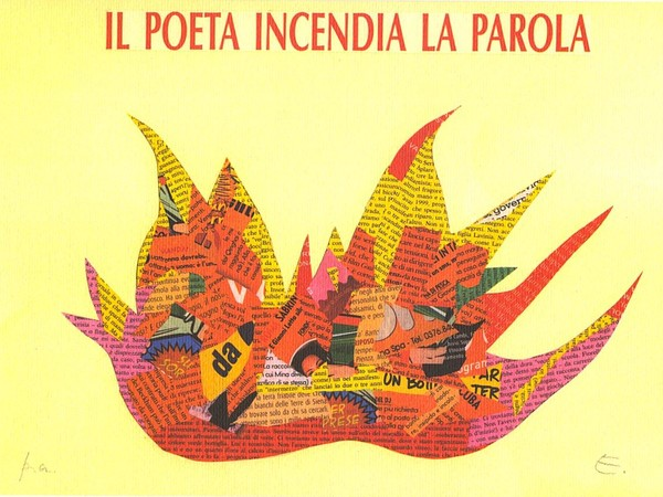 Eugenio Miccini, Ontologia naturale, 1983, serigrafia