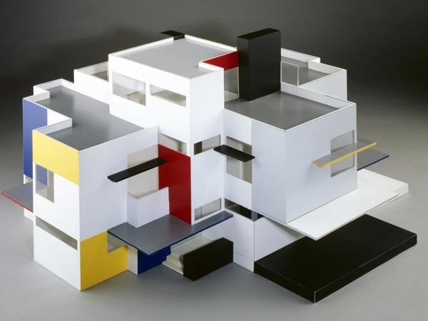 Architettura e interni del movimento de stijl mostra l for De stijl architettura