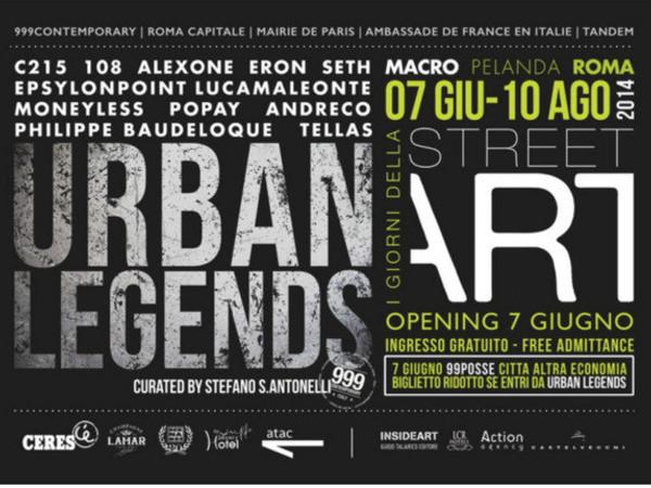 Urban Legends, MACRO Testaccio - La Pelanda, Roma