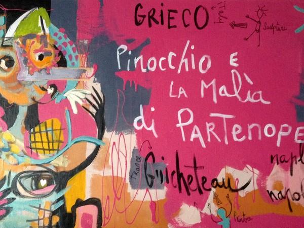 Patrizia Grieco / Cecile Guicheteau. Pinocchio e la malìa di Partenope