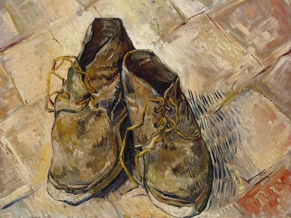 Vincent van Gogh, Scarpe, 1888, Olio su tela, 55.2 x 45.7 cm, New York, Metropolitan Museum