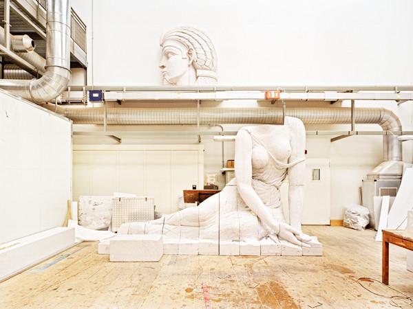 Massimo Siragusa, Laboratorio di lavorazione delle scenografie del Teatro La Scala, Milano, 2006