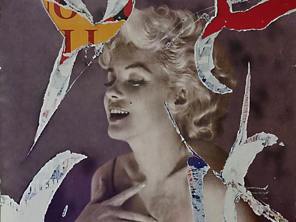 Rotella Decollage, Il profumo di Marilyn, cm 100x70