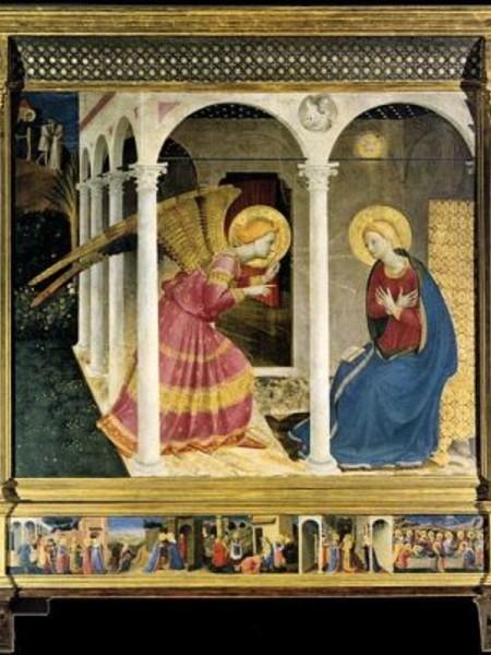 Beato Angelico, Annunciazione, Museo Diocesano di Cortona1333-1334 ca.