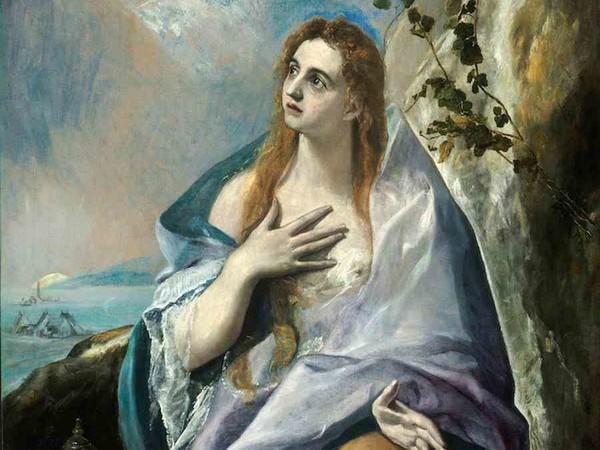El Greco, Santa Maddalena Penitente. Museo di Belle Arti, Budapest