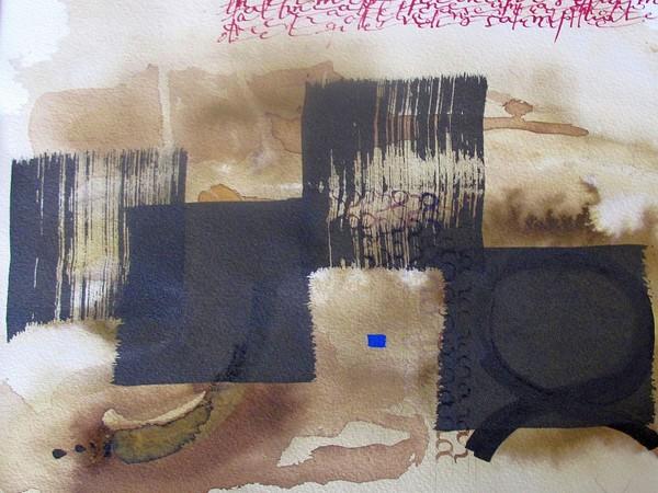 Magda Tardon, Nel mio principio, 2018, cm. 29x29