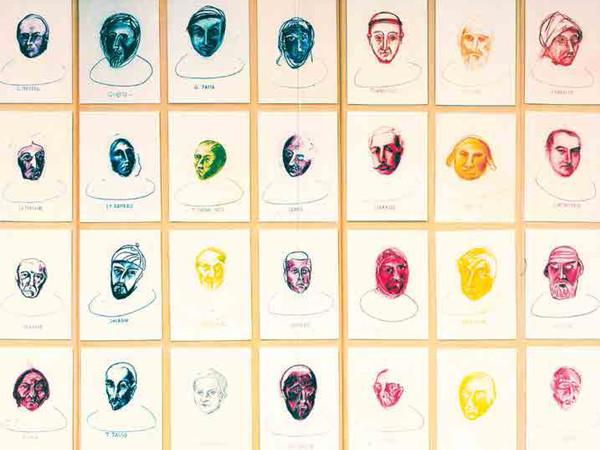 Biagio Pancino, <em>La Grande Bibliot&egrave;que</em>, 1985-1993, Particolare<br />