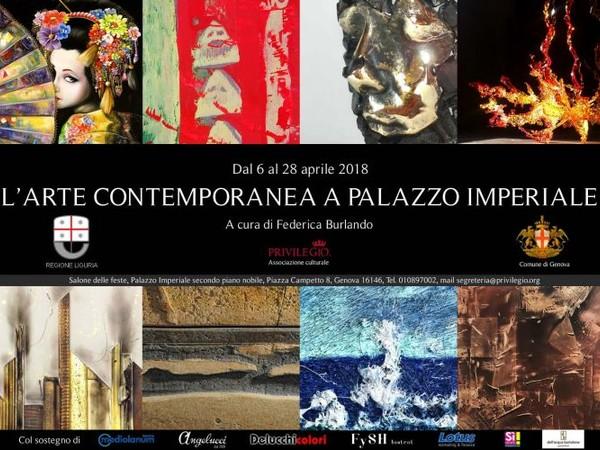 L'arte contemporanea a Palazzo Imperiale, Genova