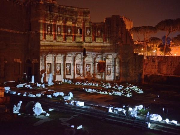 Foro di Augusto, Roma, Notturno | Foto: © Andrea Franceschini<br />