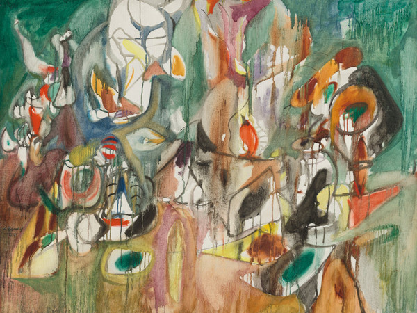 <span>Arshile Gorky, </span><em>One Year the Milkweed</em><span>, 1944, </span><span>oil on canvas, </span><span>94.2x119.3 cm.<br /></span><span>National Gallery of Art, Washington, D.C. Ailsa Mellon Bruce Fund</span><br /><span><br /></span>