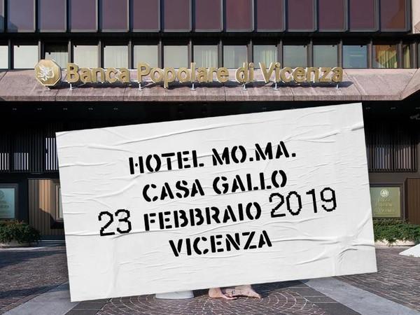 Monica Marioni. HOTEL MO.MA., Casa Gallo-Scarpa, Vicenza