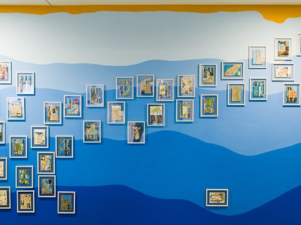 Luca Vitone, mare nostrum, 2004-2007. Installation Deutsche Bank Collection
