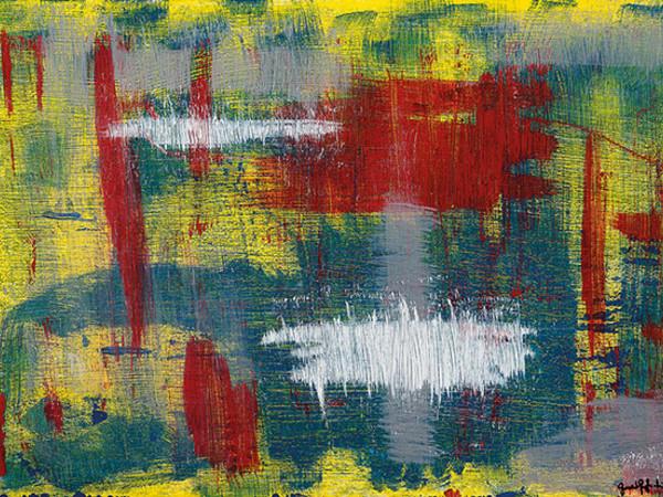 Giancarlo Gagliardi, Sfuggente, 2018, acrilico su legno, cm. 56x80