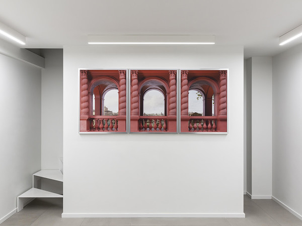 Robocoop. Quadrature, stampa risografica, inchiostro su carta. Divario, Roma