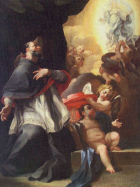 Visione mistica di San Bonaventura