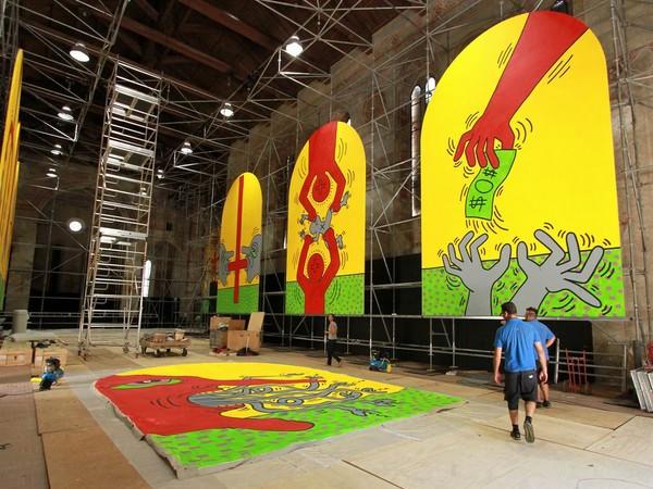 Keith Haring. Extralarge, Ex Chiesa di San Francesco, Udine