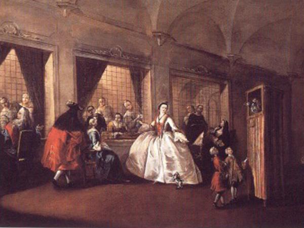 Il parlatoio delle Monache di San Zaccaria
