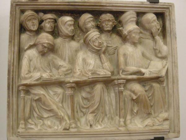 Particolare della tomba di Giovanni da Legnano