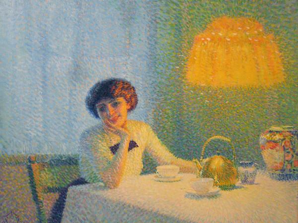 Aleardo Terzi, <em>Meriggio d'autunno</em>, 1913, Collezione privata