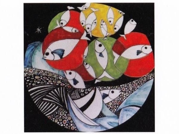 Opera in ceramica di Laura Marmai