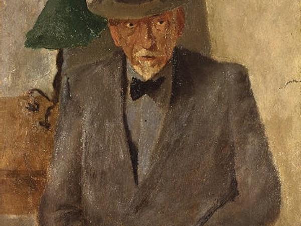 Fausto Pirandello, Ritratto di Luigi Pirandello, 1936. GNAM Roma