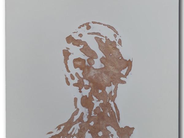 Franco Losvizzero, Calenda, tecnica mista su tavola, cm. 55x55x6
