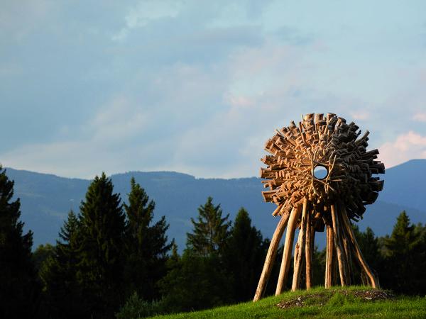 Arte Sella (Borgo valsugana, TN), Il Parco fa parte di Grandi Giardini Italiani | Photo by Giacomo Bianchi | Courtesy of Archivio Grandi Giardini Italiani, www.grandigiardini.it