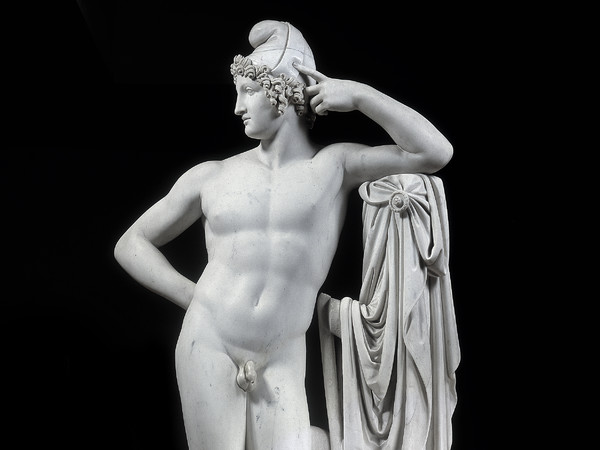 Antonio Canova, Paride, 1807-1812, Marmo, 79.5 x 200 x 64.5 cm, Asolo, Museo Civico