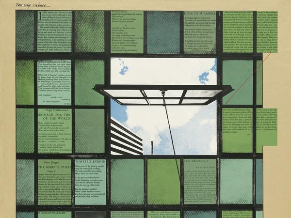 R. B. Kitaj, <em>The Gay Science, Mahler Becomes Politics, Beisbol</em>, 1964-67, Screenprint in colour | Courtesy of R. B. Kitaj Estate