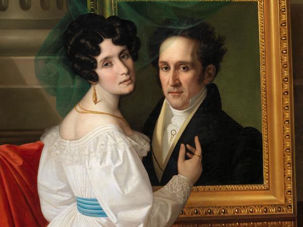 Giuseppe Tominz, Doppio ritratto, 1830.