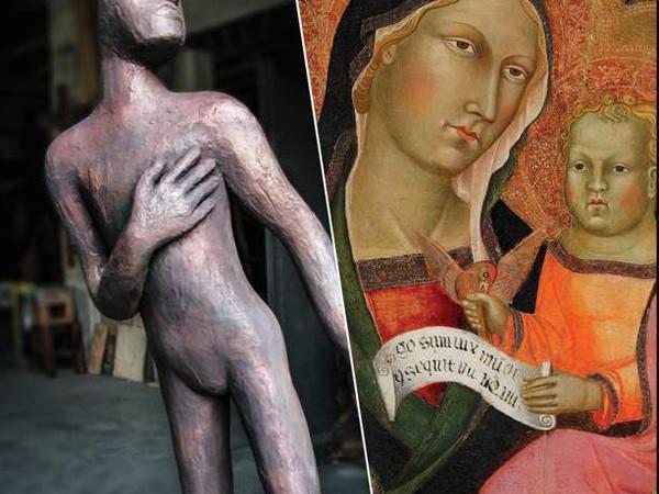 Dipinti del '300 e '400 italiano da importanti collezioni private e Dario Ballantini, scultore - Mostra - Milano - Studio Legale Trivoli - Arte.it