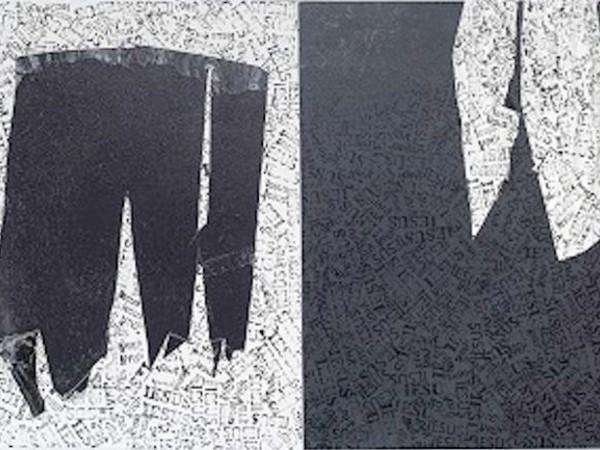 Gastone Bai, Olio su tela, cm. 140x80