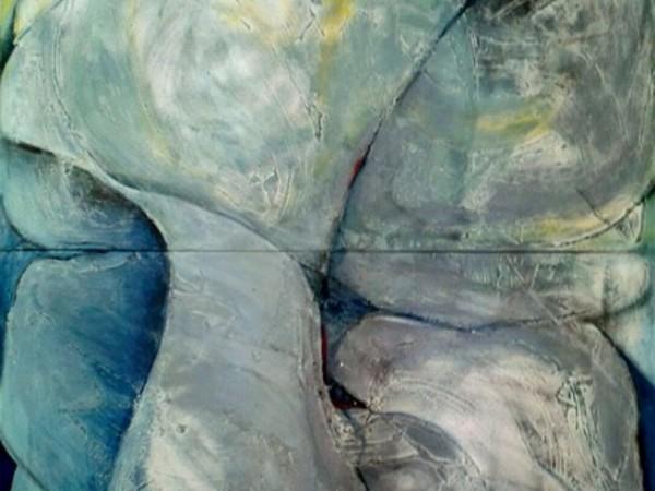Maria Pellini, Aprile 2017, 2017, tecnica mista su tela, cm. 200x150