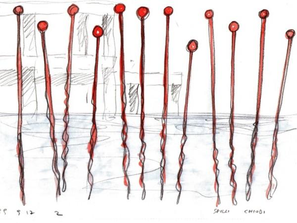Spilli, i<span>nstallazione ambientale nel Lago Ex Snia</span><span>di Alberto Timossi con sistema sonoro di Simone Pappalardo</span>