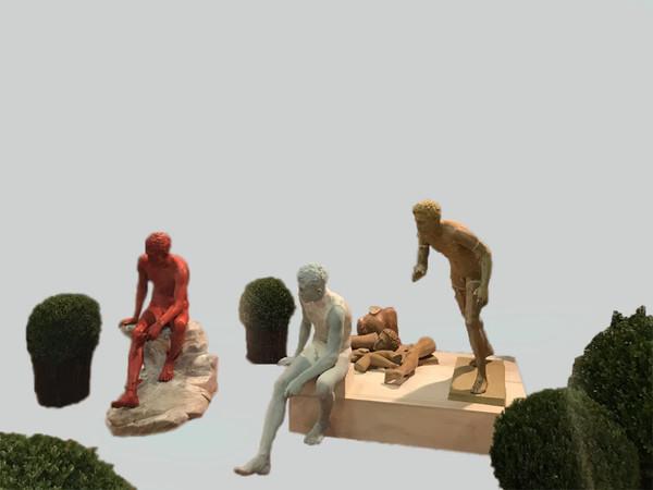Copia conforme: l'arte della riproduzione dal '700 ad oggi, Reggia di Portici