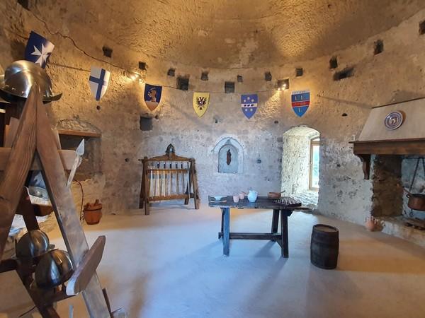 Ricostruzione sale museali Castello di Lettere