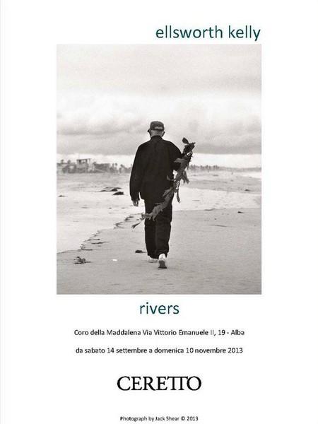 Ellsworth Kelly. Rivers, Coro della Maddalena, Alba (CN)