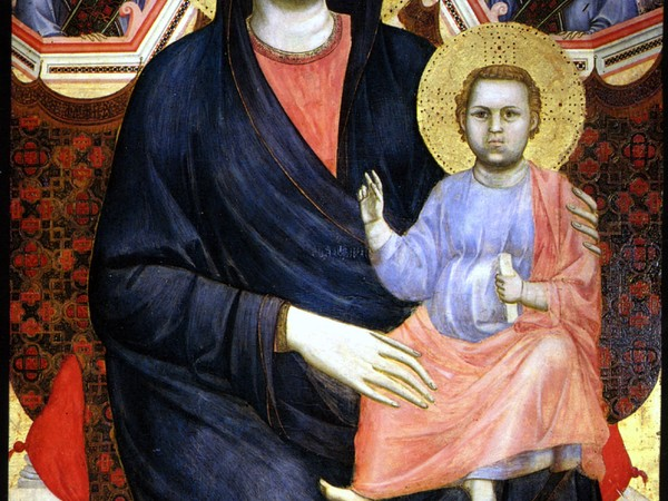 Giotto, Madonna di San Giorgio alla Costa, tempera e oro su tavola, 180x90 cm., 1295 ca.