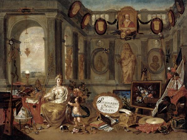 Ferdinand van Kessel, Allegoria dell'Europa, Datato 1689. Olio su tela, 52x72 cm.