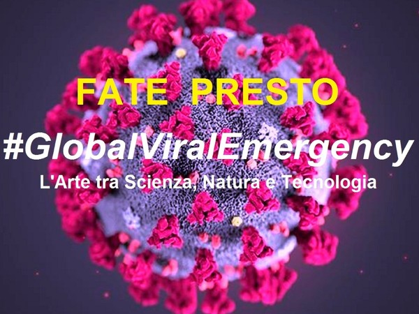 Copertina  Manifesto, GlobalViralEmergency - Fate Pres