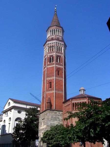 Campanile della Chiesa di San Gottardo in Corte