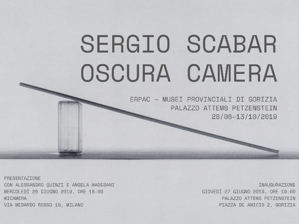 Sergio Scabar. Oscura camera (1969-2018), Palazzo Attems Petzenstein, Gorizia