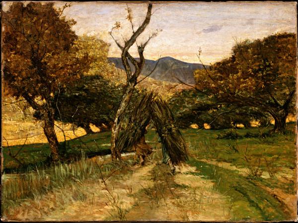 Giovanni Fattori, Le boscaiole, 1878 c., Olio su tela, 58x79 cm
